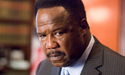 Clay Davis, fictional, corrupt state Senator.  Sheeeeit.
